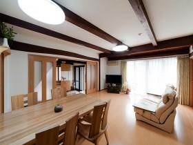 熊本県菊池市 M様の施工写真です。