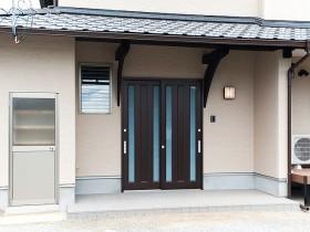 熊本県菊池市 F様の施工写真です。