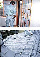家造りの流れ 10.着工前下見会/規格寸法・預かり荷物・生活廃材処分物の確認
