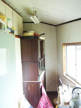 熊本県八代市 狭い空間も収納リフォーム施工前