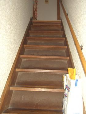 熊本県熊本市 階段リフォーム 施工前