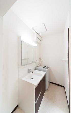 熊本県宇城市 洗面室リフォーム 施工後