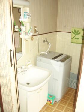 熊本県宇城市 洗面室リフォーム 施工前