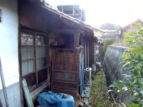 熊本県菊池市 テラスリフォーム 施工前