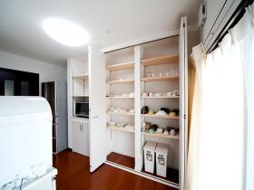 熊本県玉名市 キッチン収納リフォーム 施工後