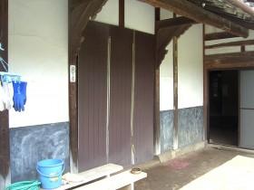 熊本県荒尾市 玄関外部リフォーム 施工前