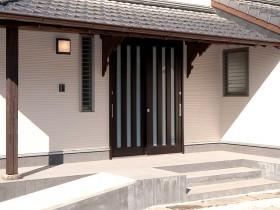 熊本県荒尾市 スロープ玄関リフォーム 施工後