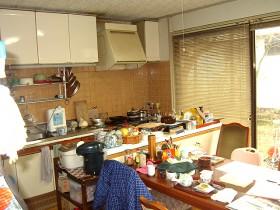 熊本県熊本市 キッチンリフォーム 施工前