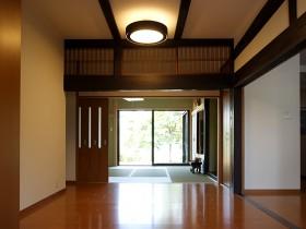 熊本県熊本市 玄関ホールリフォーム 施工後