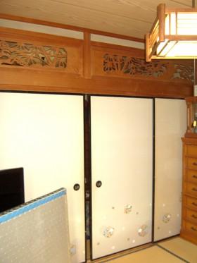 熊本県玉名郡 和室リフォーム 施工前