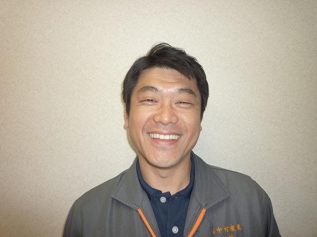 会社案内 スタッフ紹介 中村 賢吾 (畳・建具担当)